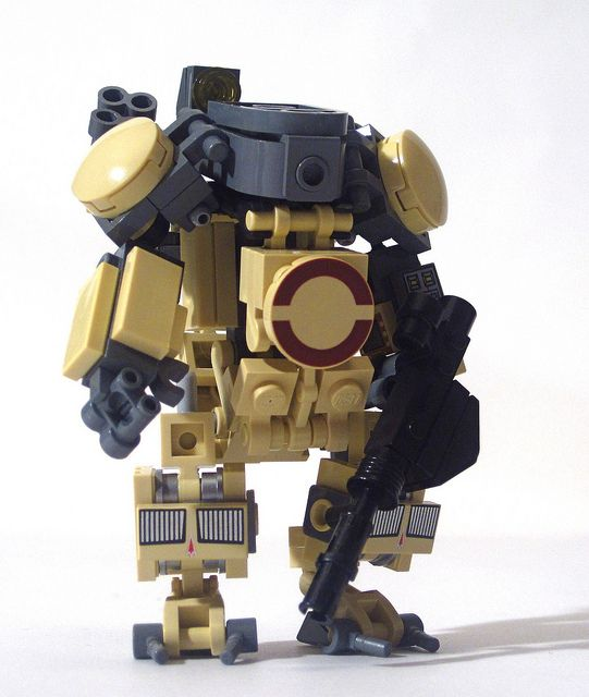 Mech / Suit Closed By Lego Tom, Via Flickr