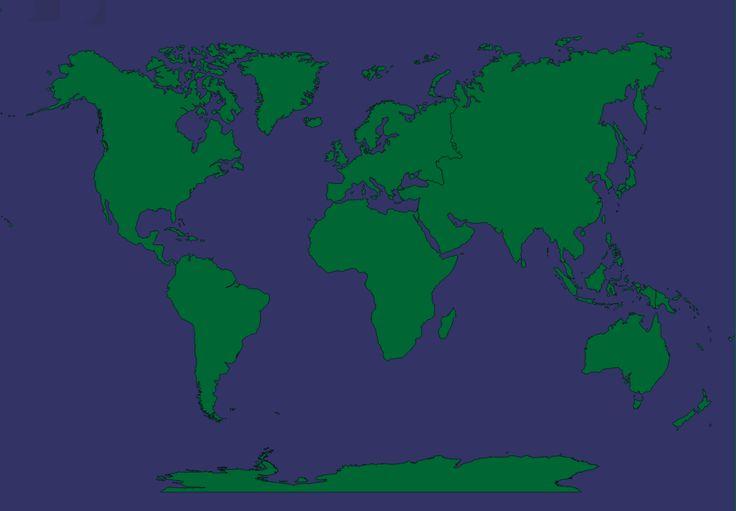 Världsdelar - geografispel