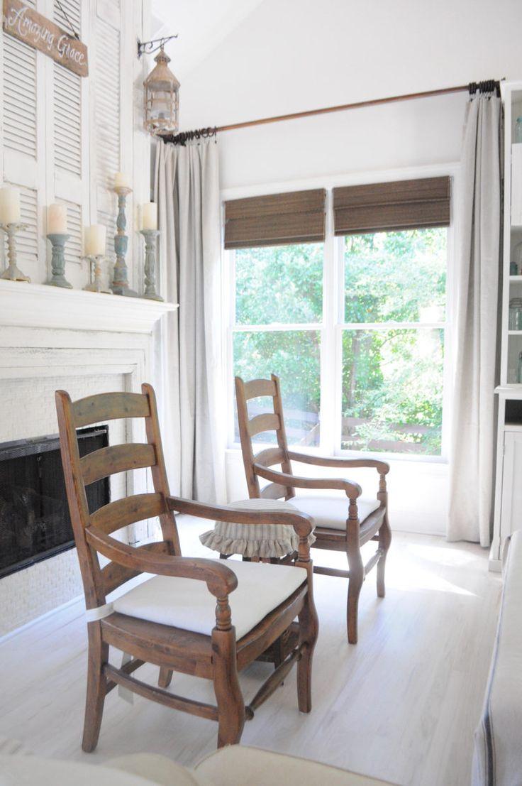 Life On The Shady Grove Farmhouse Home Tour. The Fireplace