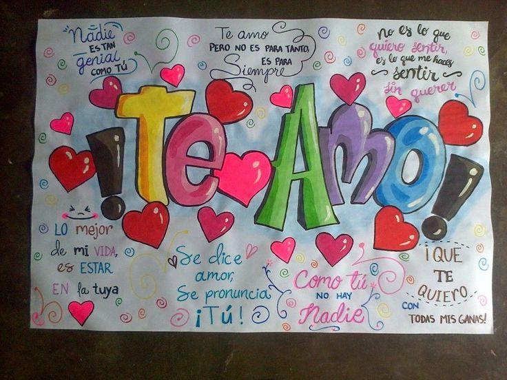 Pancartas de amor  Whatsapp 04149758612 #amor #teamo #pancartas #Cartasdeamor