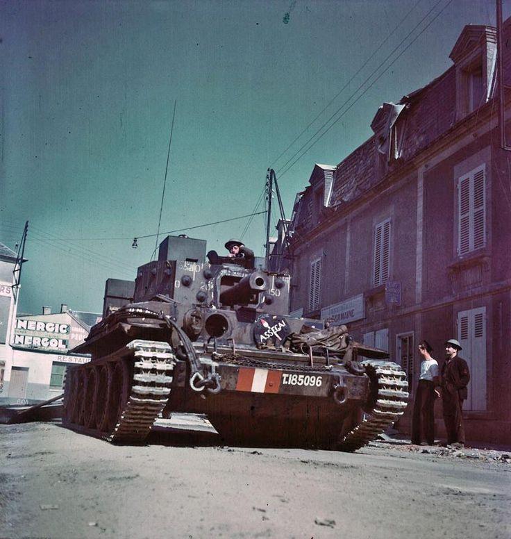 British Centaur IV. France, 1943-1944,