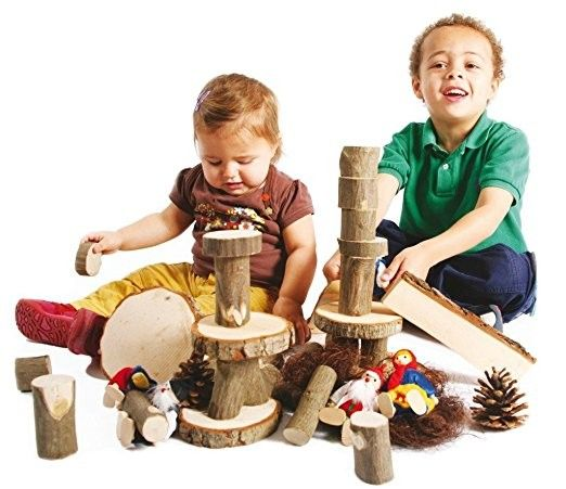 Magic Wood Tree Blocks Construction Set | Entropy