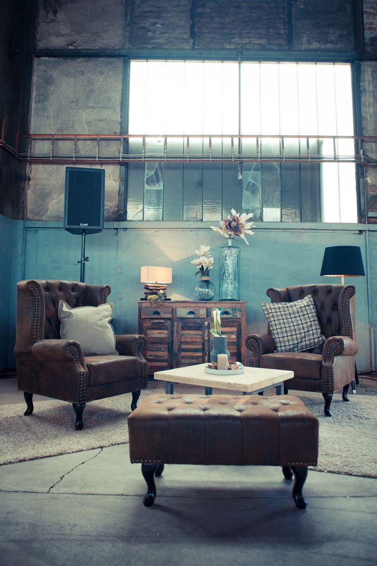 Zigarren Lounge Im Chesterfield Stil. Zu Finden Auf Www.lounge Factory.de
