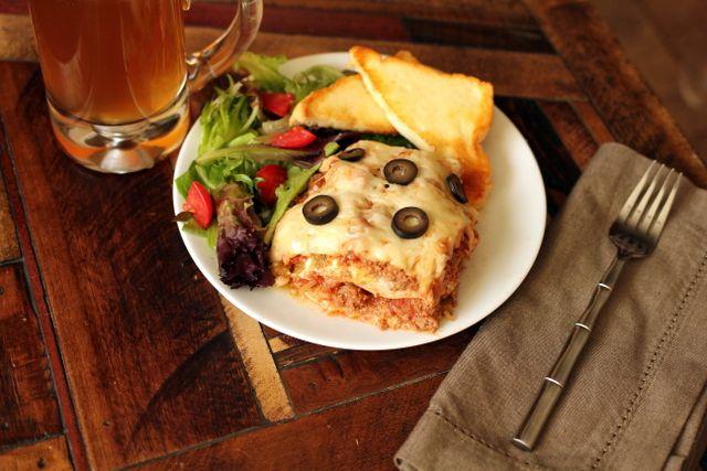 low carb enchilada casserole, low carb enchilada, healthy enchilada--Maria Emmerich