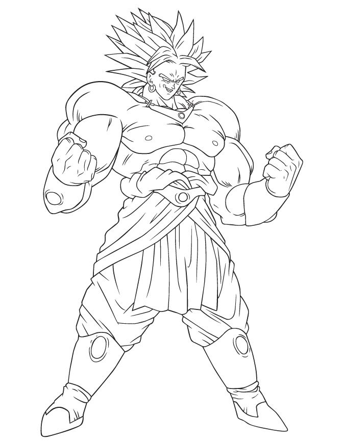 Coloriage Black Goku