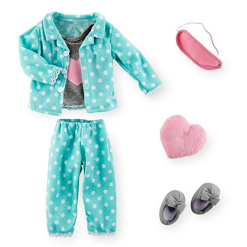 "Journey Girls Sleepwear Fashion Pack - Polka Dot Heart - Toys R Us - Toys ""R"" Us"