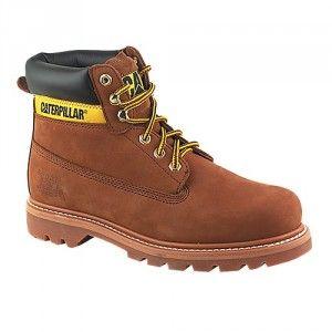 Caterpillar Colorado Men's Sundance Brown Boots #caterpillar #boots #style #fashion #autumn #winter #mensfashion #mensstyle  #catfootwear #catboots