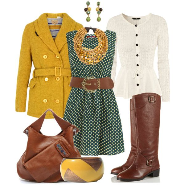 Autumn: Touch of Yellow by heather-rolin on Polyvore featuring Dorothy Perkins, H&M, Levi's Made & Crafted, Topshop, Monies, Fantasy Jewelry Box and Miss Selfridge