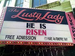 Easter's a special day at The Lusty Lady in Se...