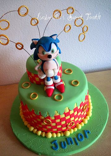 Sonic Cakes Pinterest