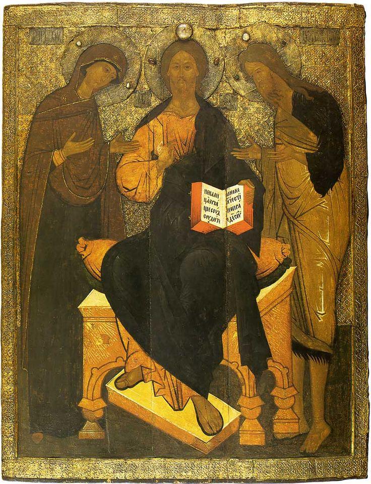 Deesis. 16th century
