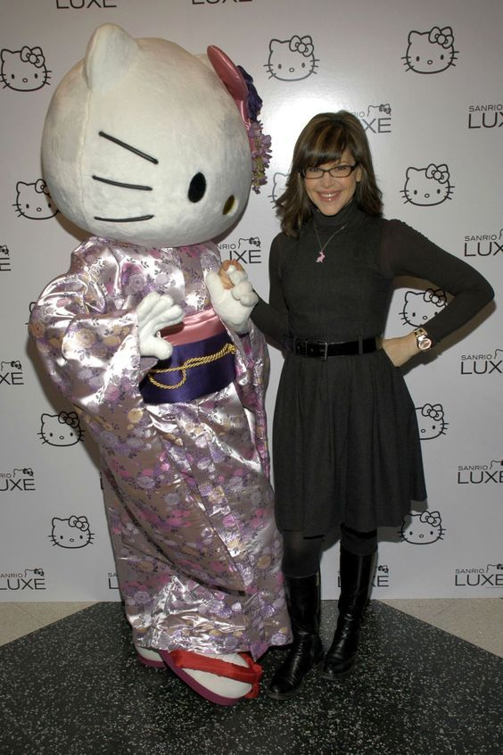 Lisa Loeb at Hello Kitty SANRIO LUXE launch in NYC