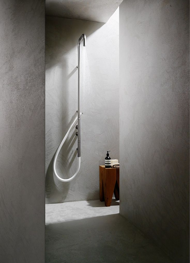 Wall-mounted shower panel COLONNA 316 by AQUAelite
