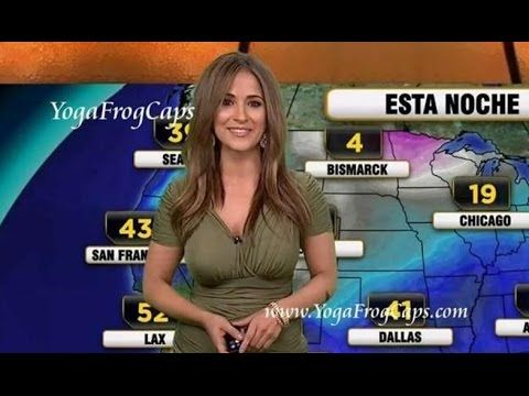 Bustiest Weather Girls From Around The World_ weather forecast
