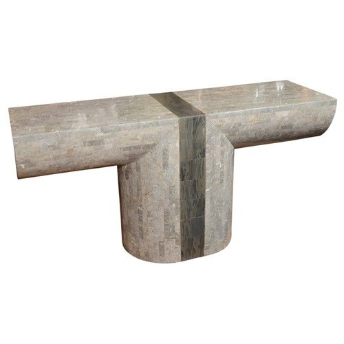 Delightful Karl Springer, Tessellated Stone U0026 Marble Table. Nice U0026 Cool For Rolling  Out Dough