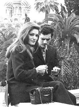 Dalida e Luigi Tenco a Sanremo nel 1967