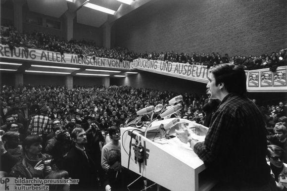 Rudi Dutschke at a Vietnam Congress (February 17, 1968)