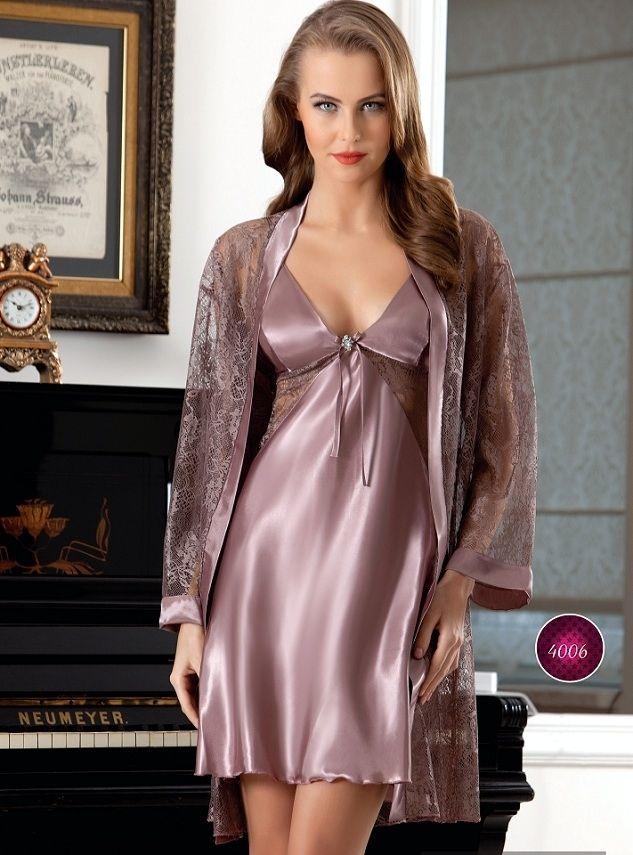 Anastasia, Dantelli Saten Gecelik ve Sabahlık Takım 99.90 TL Anastasia Saten Gecelik ve Sabahlık Koleksiyonu http://www.camasirim.com/c/saten-gecelik-4?specs=2741