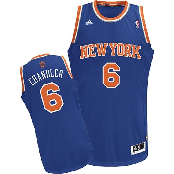 Tyson Chandler New York Knicks adidas Swingman Road Jersey - Royal Blue - $54.99