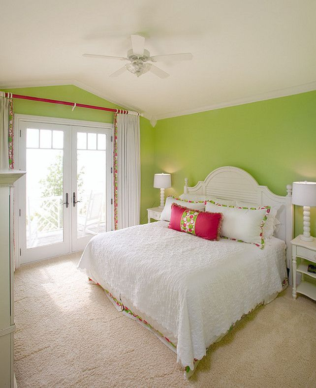 1000+ Ideas About Green Bedroom Paint On Pinterest