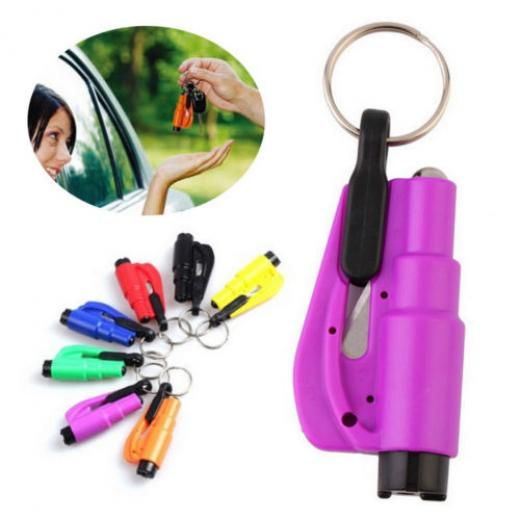 Breaker Glass Seat Belt Emergency Rescue Keychain Cutter Hammer Car Safety China