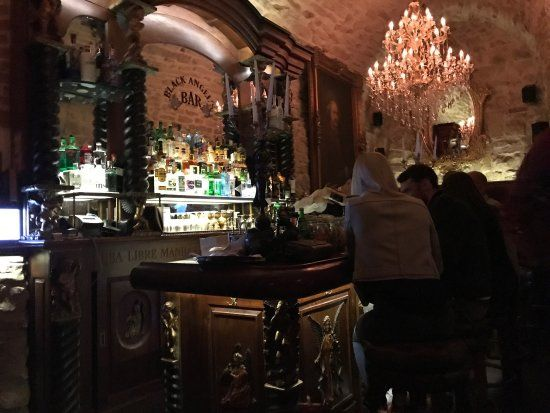 Black Angel S Bar Picture Of Prague Tripadvisor