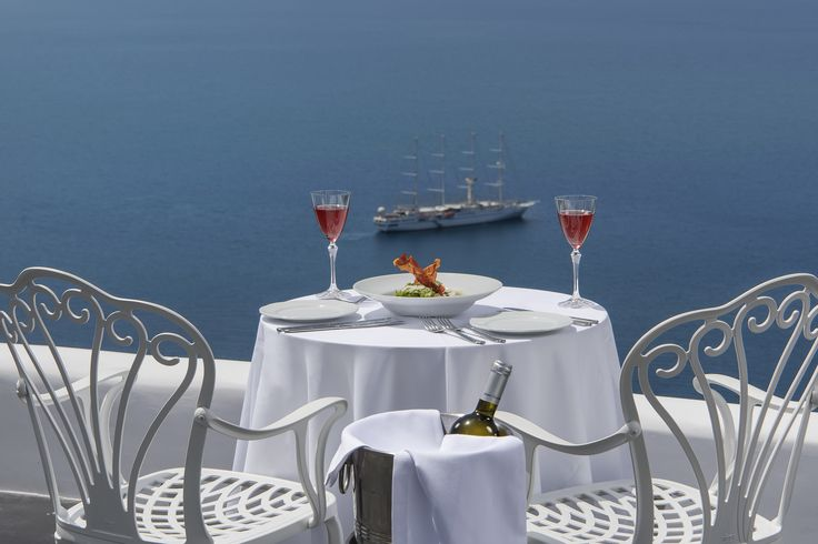 Fine dinning at our Esperisma restaurant