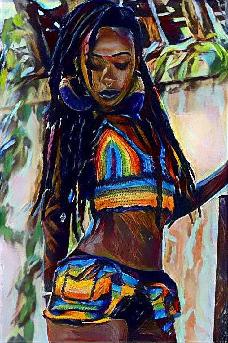 Pin By Zee J On African Pride Art In 2019 Black Love Art