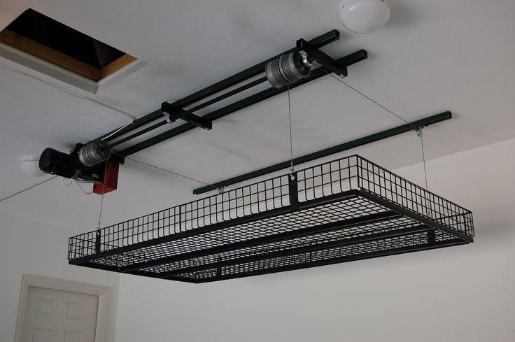 Overhead Garage Storage systems DIY