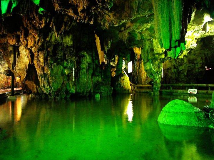 満奇洞(岡山県)