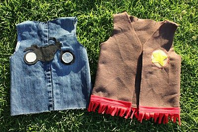 how to make vests for dress up.