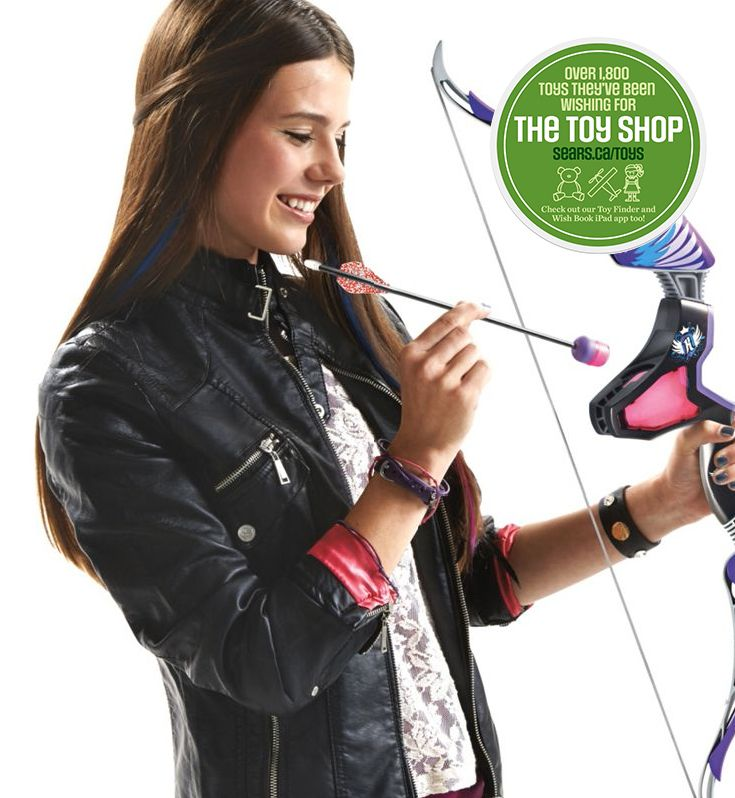 The perfect gift -  Nerf Rebelle™ 'Agent Bow Blaster' Archery Set