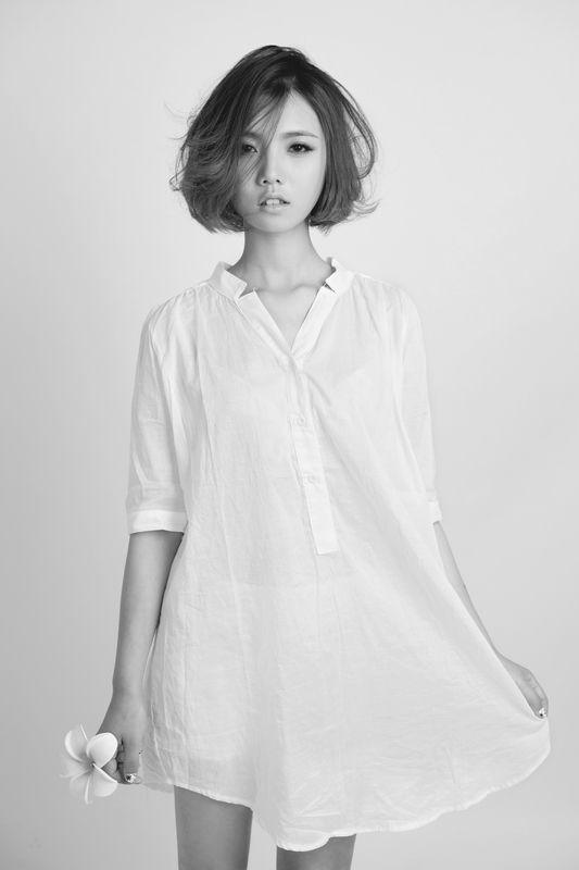 korean haircut medium women