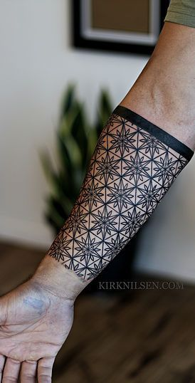 Kirk Nilsen | Black work tattoos
