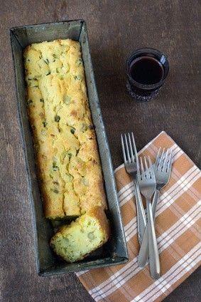 Photo de la recette Cake aux poireaux et au chèvre