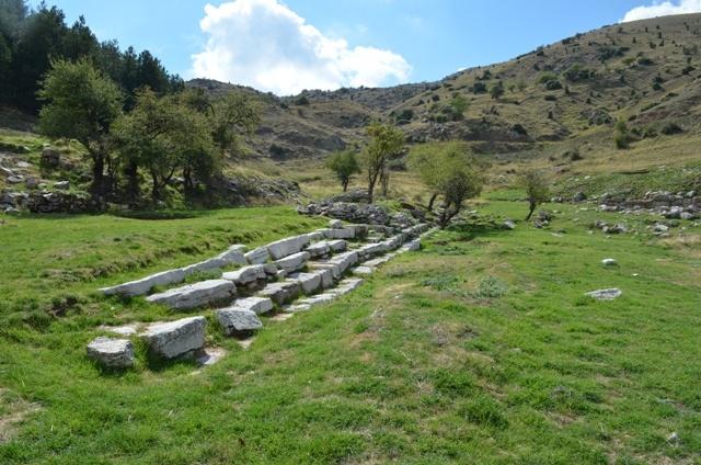 Lykaia, where the oldest games took place, as a tribute to Zeus Lykaios