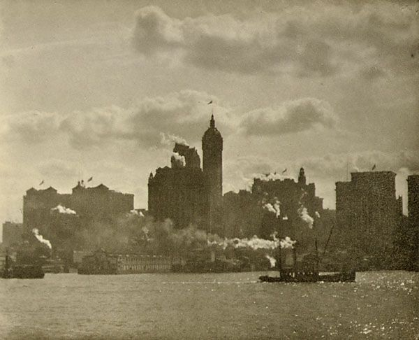 Alfred Stieglitz_Lower Manhattan_1910