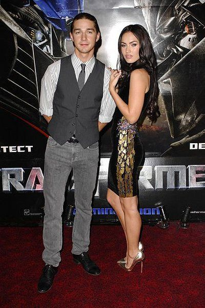 Shia LaBeouf and Megan Fox. Transformer