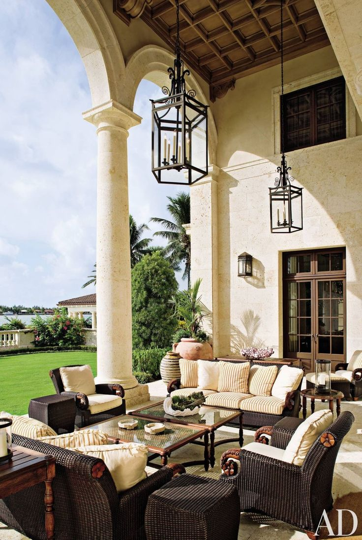 how to decorate around your swimming pool patio ideas traditional-outdoor-space-marjorie-shushan-indian-creek-village-florida