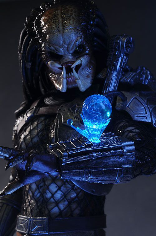 """What the fuck are you?""  Classic Predator by Hot Toys"