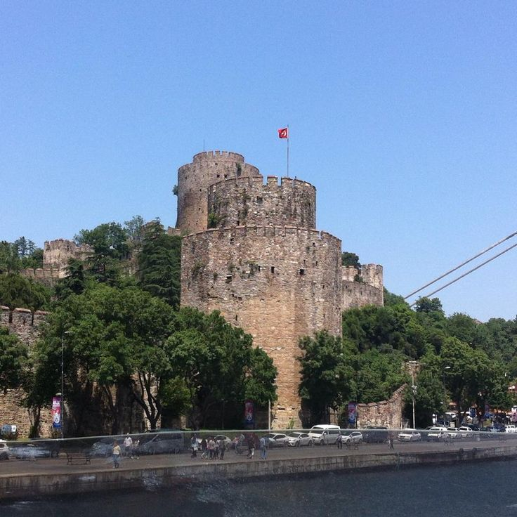 Ruins of the old walls of Constantinople