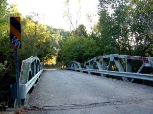 The Egypt Valley And Egypt Road Bridge In Ohio Is Known As The - Map of egypt valley ohio
