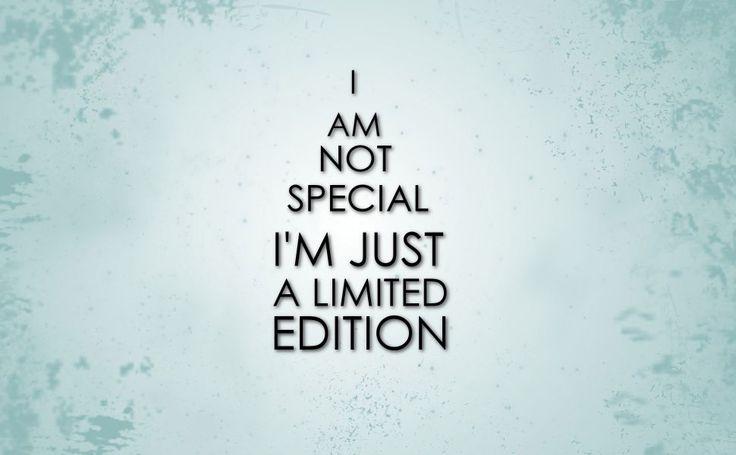 I am limited edition HD Wallpaper