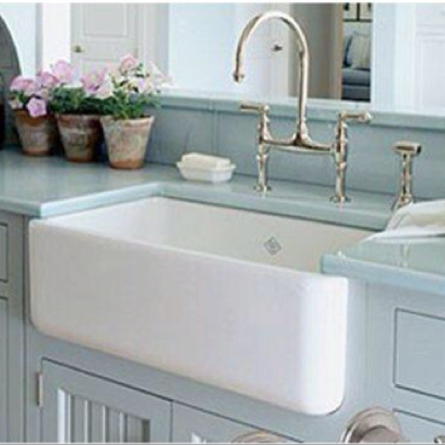 Porcelain Farmhouse Kitchen Sink : farmhouse sinks