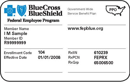 # 1 PPO ~ Blue Cross  Sample Medical ID