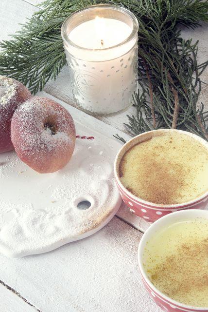 Das beste Bratapfelrezept aus Omas Rezeptbuch. Nachzulesen hier: http://www.whiteandvintage.com/2016/01/der-bratapfel-ein-gesundes-winterdessert.html