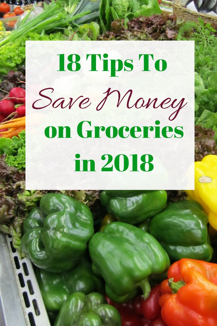 Looking to slash the cost of your groceries bill this year? Here are 18 Brand New Tips for saving on food and Groceries in 2018