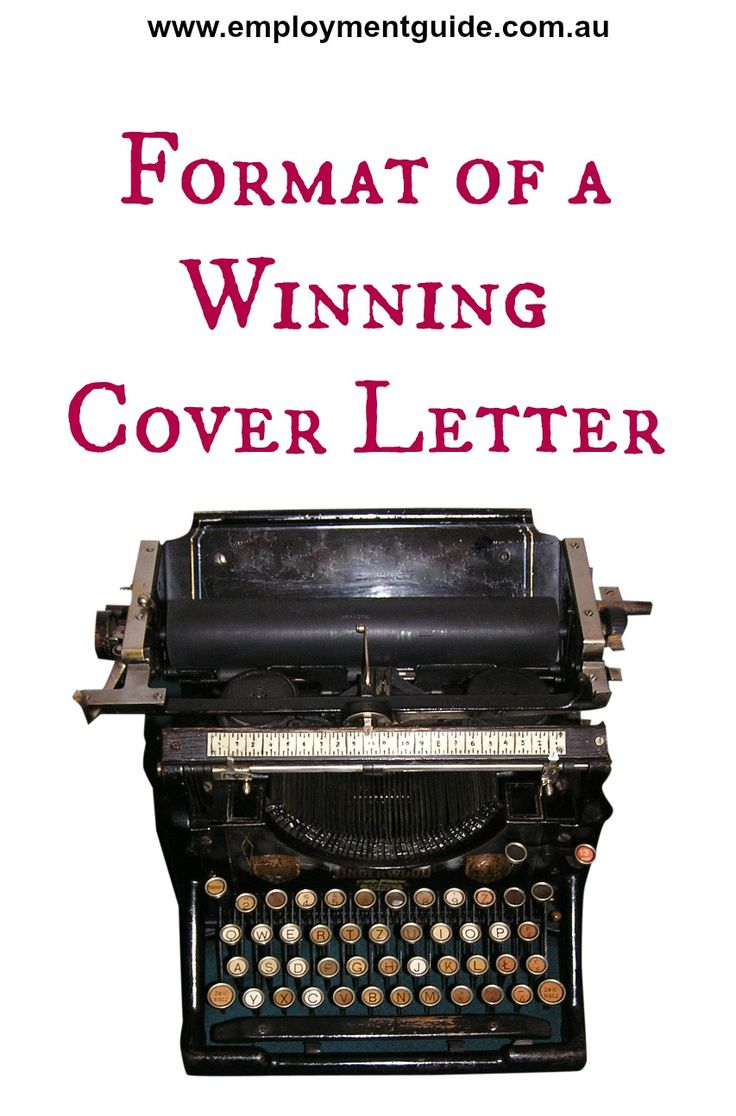 tips on how to create the right format for your cover letter cover letter tips