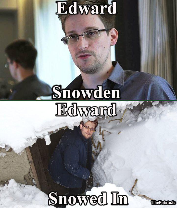 Edward Snowden Meme - The Potato