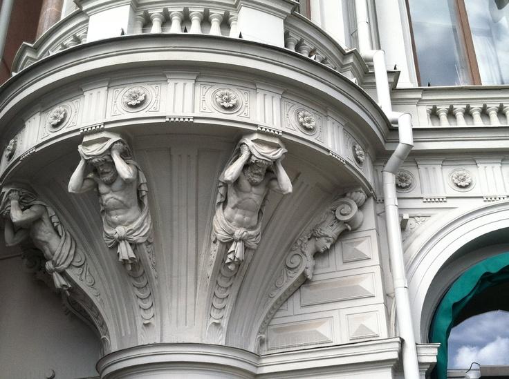 Building detail, Stockholm. #PinStockholm